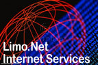 Limo.Net Internet Services.  Website hosting, development and 56k dialup web access.